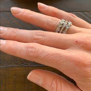 Chloe + Isabel Jewelry - Chloe + Isabel Heirloom Crystal Stackable Rings